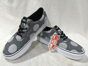 Vans Women's Doheny Platform Fuzzy Dots Grey Skate Shoes - Assorted Sizes NWB