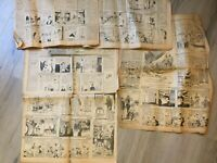 Original Vintage 1931 - Collection of Funny Papers - Cartoons - Newspaper Pages