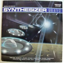 ED STARINK synthétiseur Greatest (autoroute, oxygene, pulstar, Axel F., Hymne...)