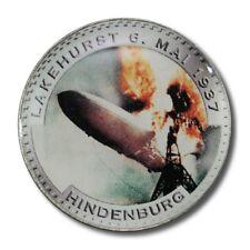Germany Third Reich Hindenburg Disaster Lakehurst, NJ 2 Reichsmark 6 May 1937 Co