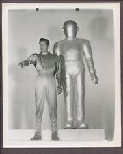 Gort & Michael Rennie Day The Earth Stood Still 1951 Original Spaceship J3328