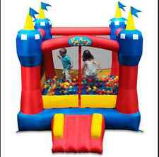 Kids Inflatable Bounce House Slide Playhouse Outdoor Castle Playground Equip Toy