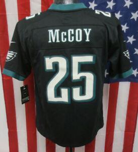 LESEAN MCCOY YOUTH LARGE PHILADELPHIA EAGLES JERSEY NIKE NFL KIDS BOYS BLACK