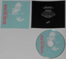 Johnathan Rice - Below the Deck  U.S. promo cd