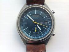 GRAND dall'aspetto vintage Seiko 6139 7070 revisionata con nuovo cristallo e cinturino personalizzato