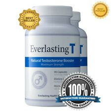 Everlasting T 2Pack - Testosterone Booster - Increased Sex Drive and Fat Burner