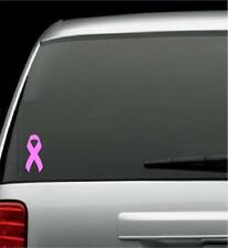 "Awareness Ribbon - Multiple Colors - Vinyl Car Window Decal 3"" x 6"""