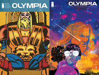 Olympia #1 2 Variant Bundle (Image 2019) Cover A Diotto & Cunniffe B Ward