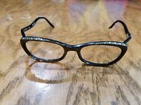 Raybert Coller 68 Frame FRANCE Cat Eye eyeglasses 1950's copper rhinestones
