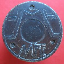 Telephone token - Russia - Moscow - MGTS plastic with Fe insert -Cat: 1-096.20