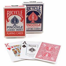Bicycle Pinochle Jumbo Playing Cards (Pack of 12) Bicycle playing cards