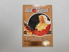 1994 Coca-Cola series 3 chase insert card S23! The Red Barrel! Christmas 1940!