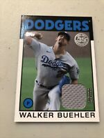 2021 Topps Series 1 Walker Buehler 1986 Relic Patch #'d  #86R-WB Dodgers