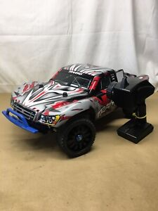 Traxxas Slash Brushless 4WD VXL Upgraded RC Car w/ Remote Control (992260698601)