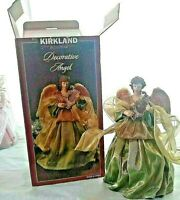 """Decorative Angel 9"""" Tall By 5 1/2""""  Wide Made By Kirkland Signature Ceramic"""