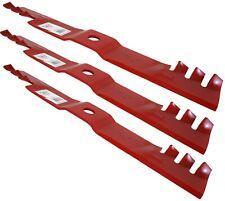 """Oregon 90-915 Lawn Mower 3 Blades for Exmark 60/"""" Gator Mulch 1//2/"""" hole NEW NOS"""