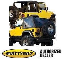 Smittybilt Bowless Combo Top 97-06 Jeep Wrangler TJ 9973235 Black