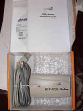BRAND NEW ADSL USB MODEM WITH CABLES AND USB CABLES & DRIVERS CD XP VISTA