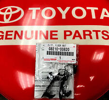 NEW 1 Pair (2 pc.) Toyota Lexus OEM Floor Mat Hook Retention Clips Easy Install