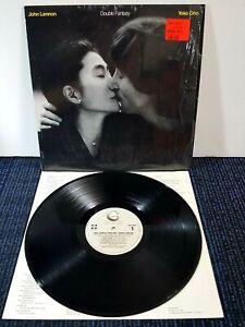 John Lennon & Yoko Ono Double Fantasy Vinyl LP (NM) Lyric Inner (1980) IN SHRINK