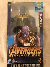 "Thanos Marvel Infinity War TITAN Hero Series Power FX Action Figure 12"". C4d"