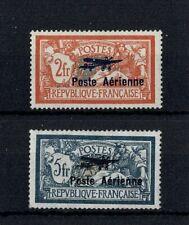 "FRANCE STAMP AVION YVERT 1 / 2 "" MERSON SALON MARSEILLE 1927 "" NEUFS xx TTB W125"