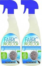 Fabric carpet Protector prevents stain remover liquid oil protect upholstery x 2