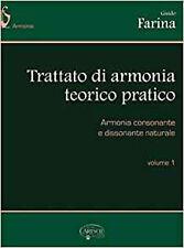 Trattato d Armonia Teorico-Pratico, Volume 1 Livre Sur la Musique, Very Good, Fa
