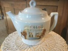 Vintage Porcelier Vitreous China Teapot
