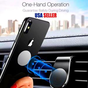 Soporte Sostenedor Estante Magnetico De Telefono Celular Para Auto Carro Coche