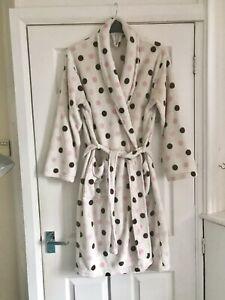 Ladies Womens Dressing Gown Size Medium / 14 / 16