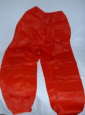 Rainmate ~ Rain Wear ~ Adult Rain Pants ~ Red with Elastic Waist and Cuffs ~ New