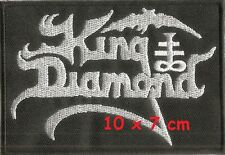 KING DIAMOND - strip patch - FREE SHIPPING