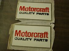 NOS OEM Ford Motorcraft Quality Parts Plaque - Mustang Torino Fairlane Galaxie