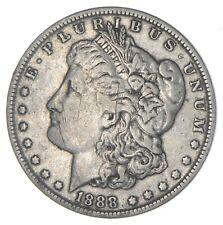 1888-O HOT LIPS Vam 4 Morgan Silver Dollar - TOUGH Variety *719