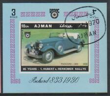 Ajman - 1970, voitures vintage (Packard 833 1930 feuille - CTO