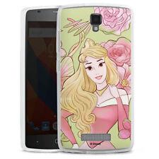 ZTE Blade L5 Silikon Hülle Case Handyhülle - Beauty royal floral