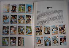 1987 TOPPS/SURF BASEBALL CARD BOOK KANSAS CITY ROYALS