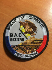 PATCH POLICE FRANCE - BAC BEZIERS