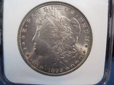 1899-0  Morgan Silver Dollar NGC MS 64 TOUGH DATE IN THIS CONDITION