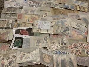 UNITED STATES INVESTOR'S STAMP LOT IN GLASSINES, GREAT FATHER'S DAY GIFT