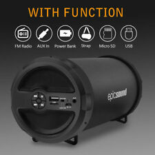 AU Portable Bluetooth Wireless Speaker Waterproof Power Bank Bass Loudspeaker FM