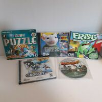 5 PC Games Puzzle Master 3 Stuart Little 2 Frog Backyard Hockey Crazy Minigolf