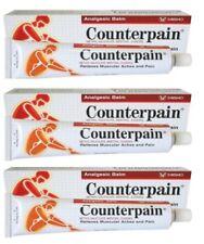 3x120g Counterpain Analgesic Balm Hot Cream Massage Relieves Muscalar Ache Pain