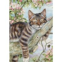5D Cat Animal Diamond Painting Full Drill Embroidery Cross Stitch Kit Home Decor