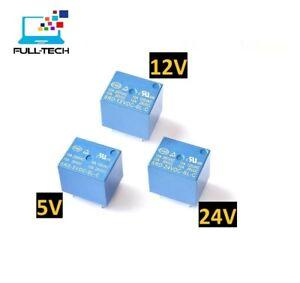Relais 5V ou 12V ou 24V SRD-05VDC/12VDC/ 24VDC Arduino Raspberry Voiture Moto