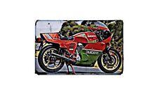 Ducati 900 Mhr Motorbike A4 photo Retro Bike