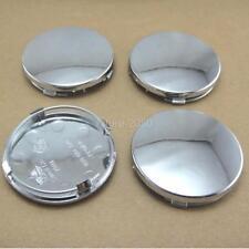"20x /lot  wheel rim center cap caps insert cover 2.25"" 2-1/2"" 60mm Chrome Silver"