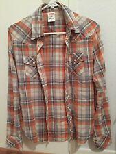 true religion western Check Cotton shirt XS
