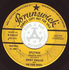 Jerry Engler Brunswick ♪ ~ 55037 ♫ ORG. US PRESS ♫ RARE DJ COPY 1957